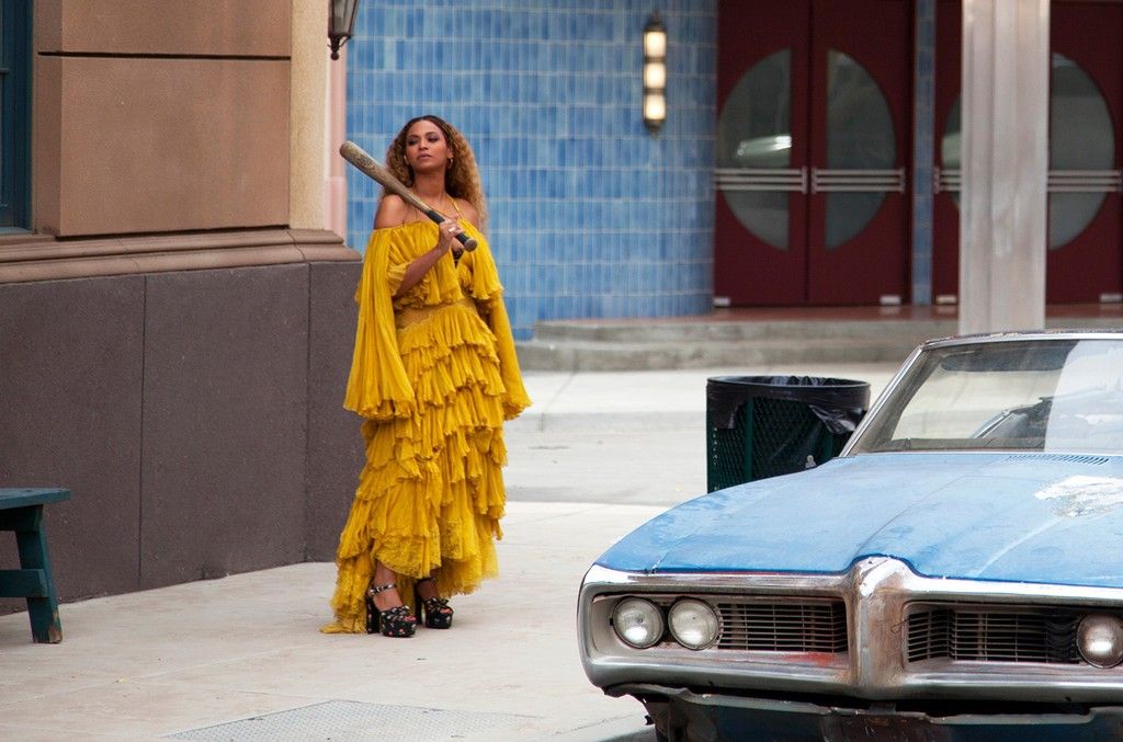Beyonce in a still from the Lemonade visual album, 2016.