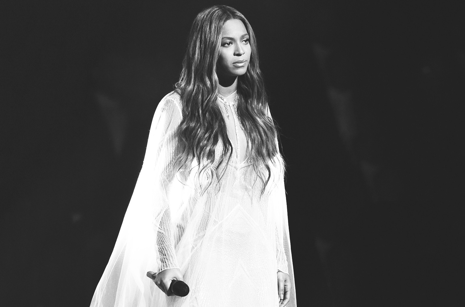 Beyonce performs at the 57th annual Grammy Awards on Feb. 8, 2015 in Los Angeles.