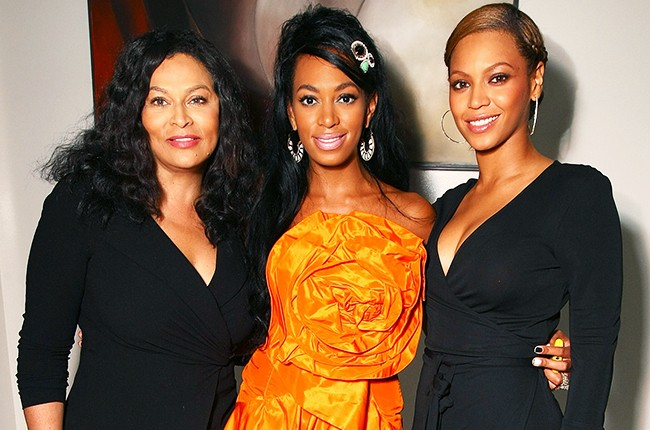 Tina Knowles, Solange Knowles and Beyonce Knowles