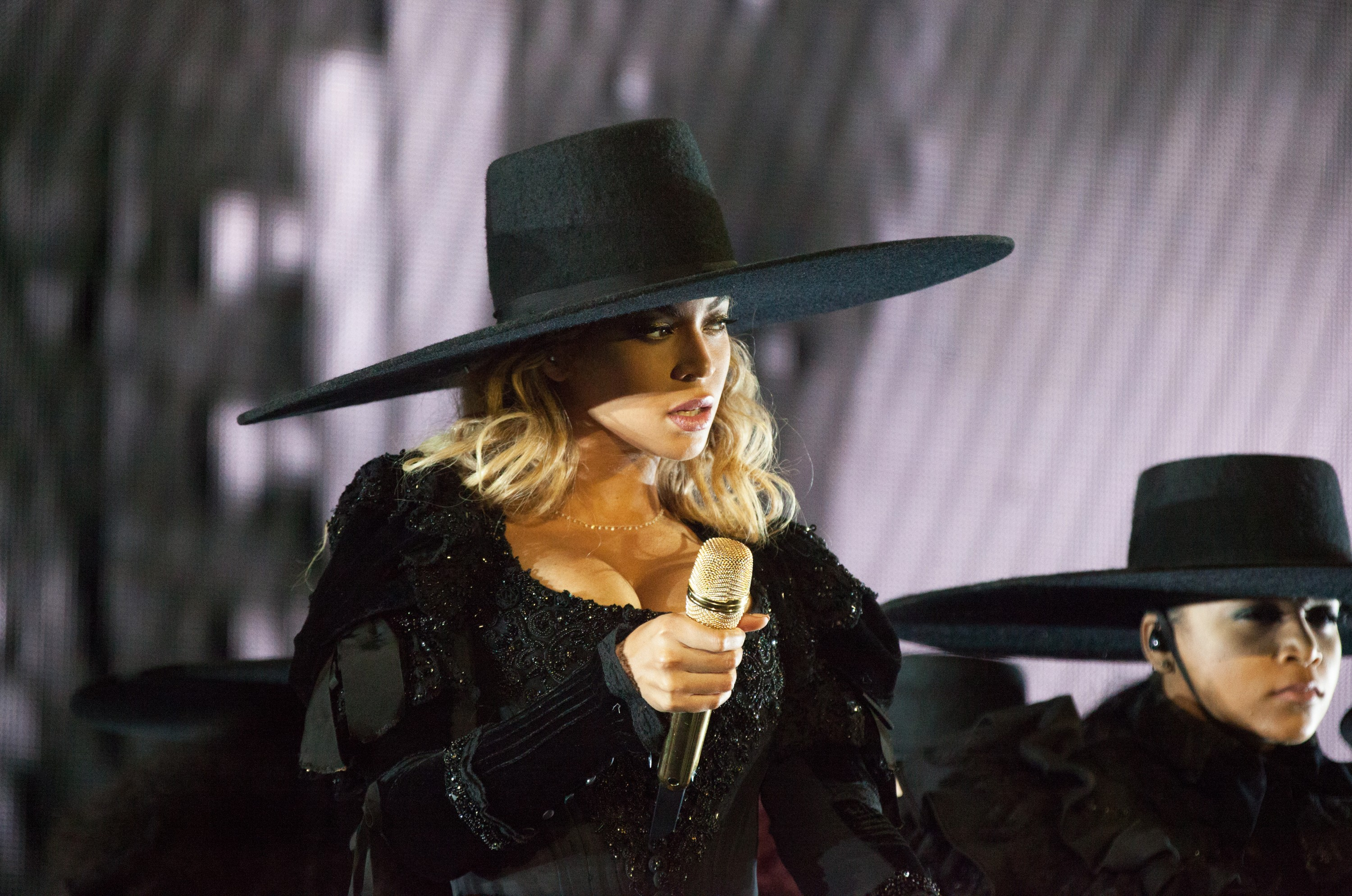 Beyonce performs during the Formation World Tour at Ford Field on Tuesday, June 14, 2016, in Detroit, Michigan
