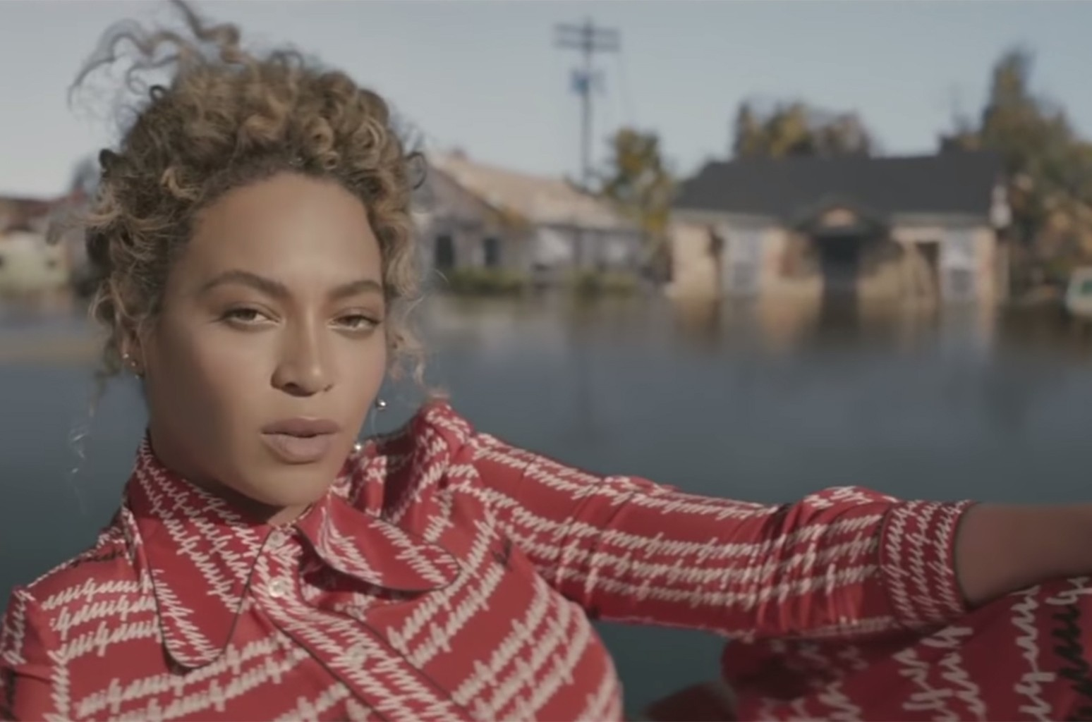 Beyonce in the video for Formation