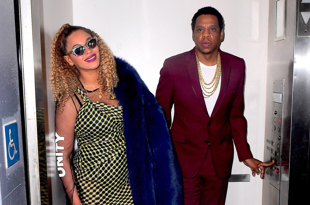 Beyonce and Jay Z were out in New York City on Dec. 4, 2017 celebrating his birthday.