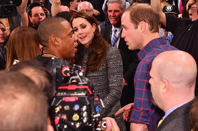 Beyonce, Jay Z, Prince WIlliam