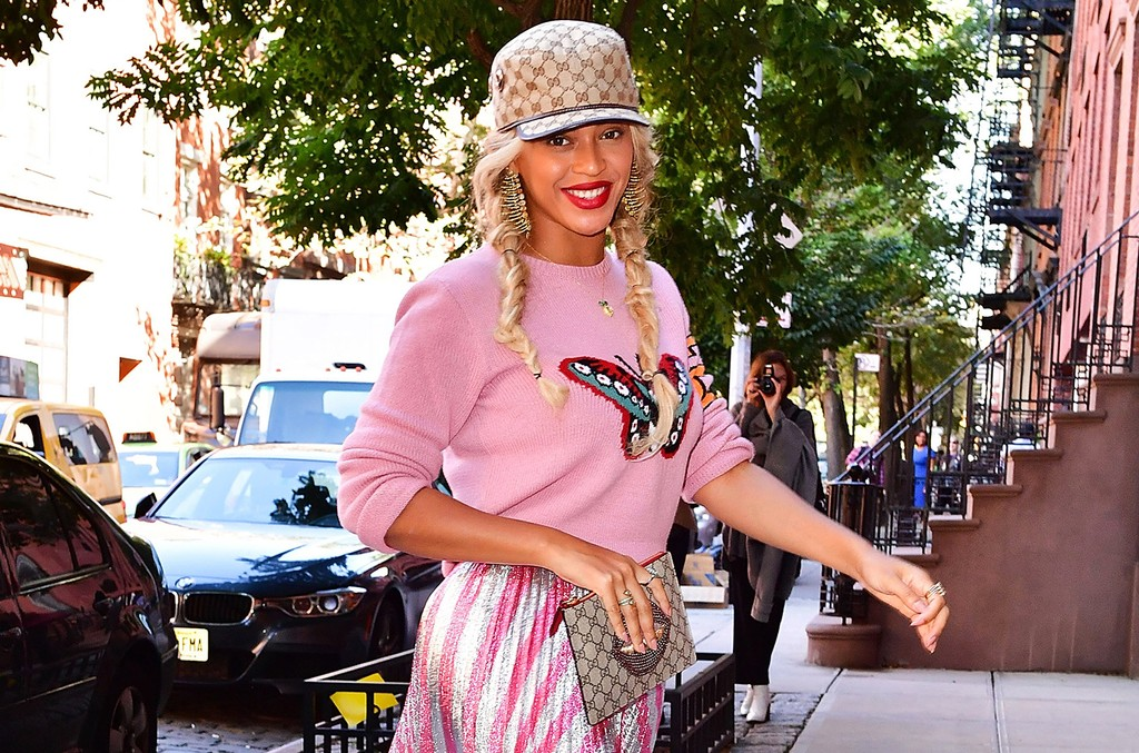 Beyonce Knowles seen on the streets of Manhattan on Oct. 5, 2016 in New York City.