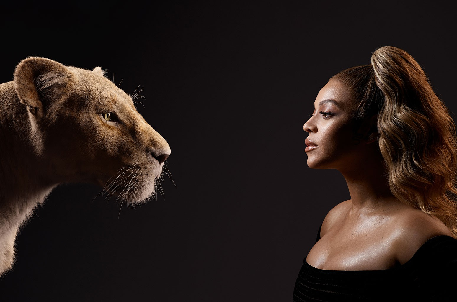 Nala and Beyoncé Knowles-Carter