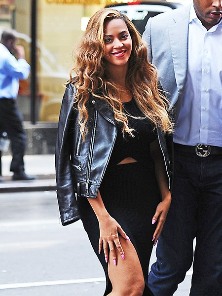 Beyonce outside of her New York office onJ une 30, 2015.
