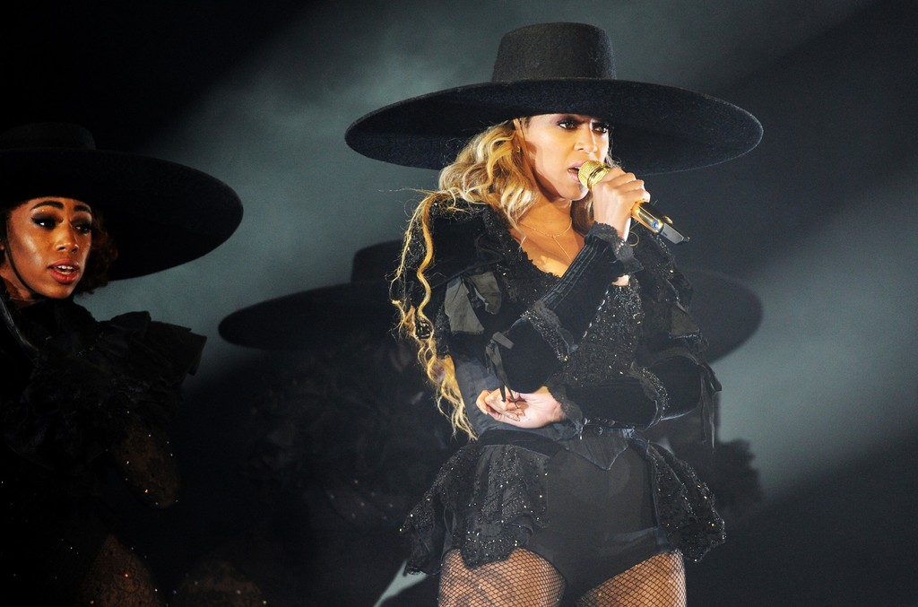 Beyonce Formation Tour, Rose Bowl 2016