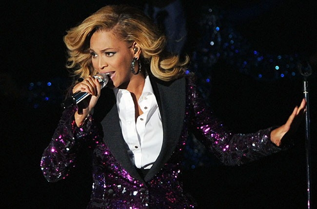 Beyonce Knowles performs onstage during the 2011 MTV Video Music Award