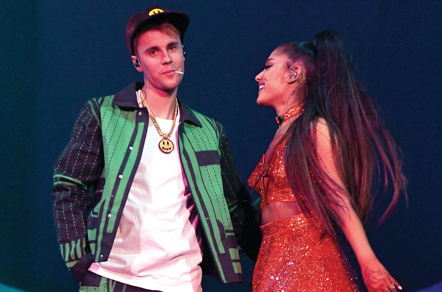 Justin Bieber, Ariana Grande