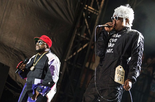 Austin City Limits 2014 -- Big Boi and Andre 3000 of Outkast