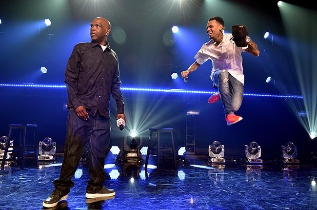 Big Boy and Chris Brown