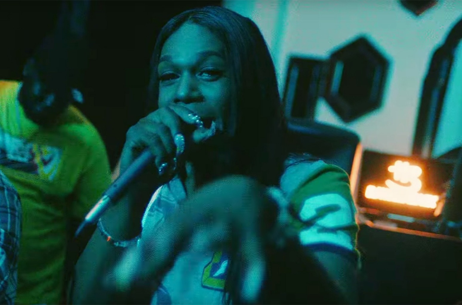 """Big Freedia in the music video for Drake's """"In My Feelings"""""""
