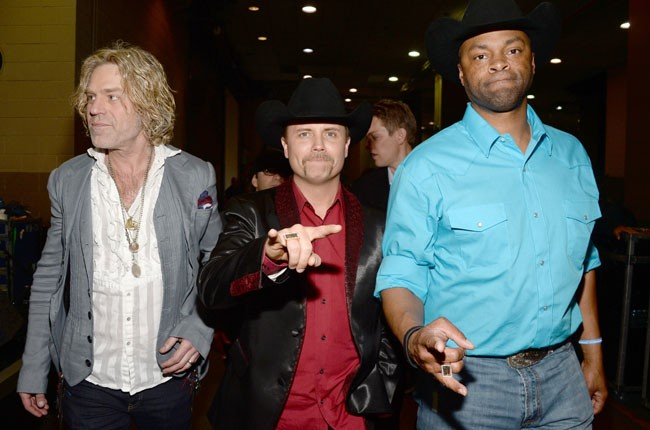 Big Kenny and John Rich of Big & Rich and Cowboy Troy