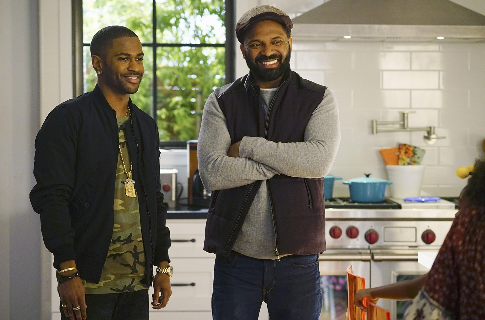Big Sean and Mike Epps on Uncle Buck