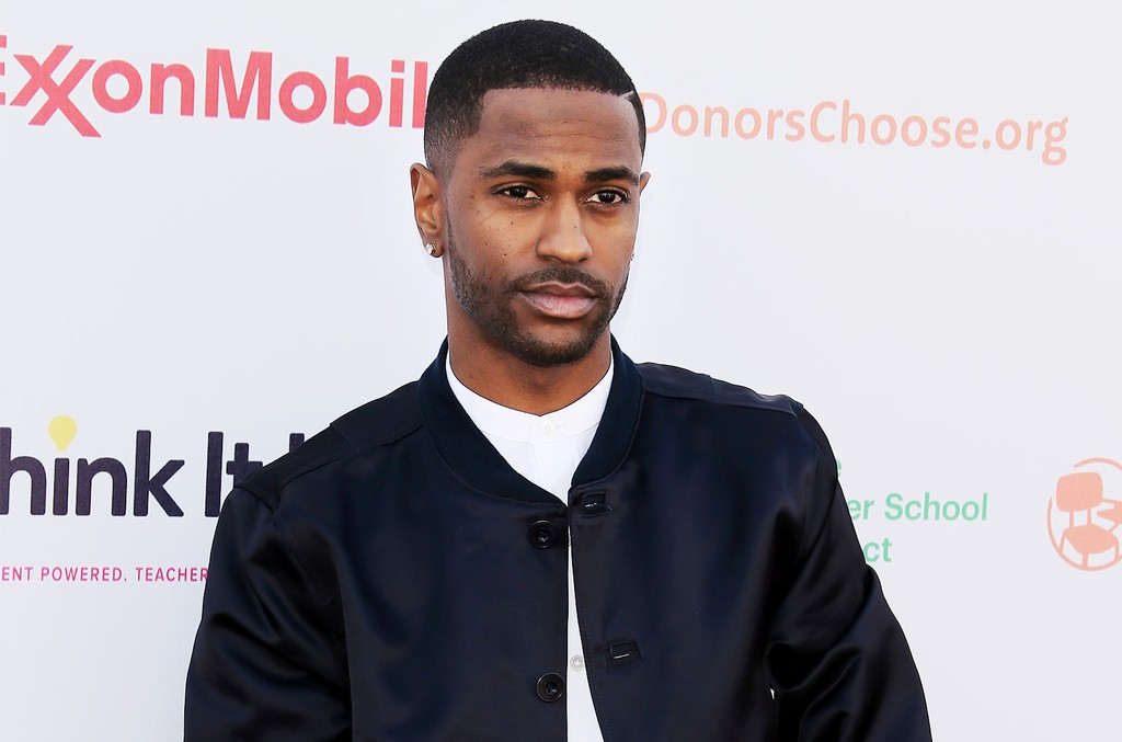 Big Sean attends the Think It Up education initiative telecast for teachers and students, hosted by Entertainment Industry Foundation at Barker Hangar on Sept. 11, 2015 in Santa Monica, Calif.