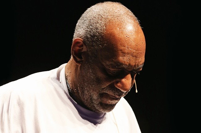 Bill Cosby onstage in New Jersey in 2014