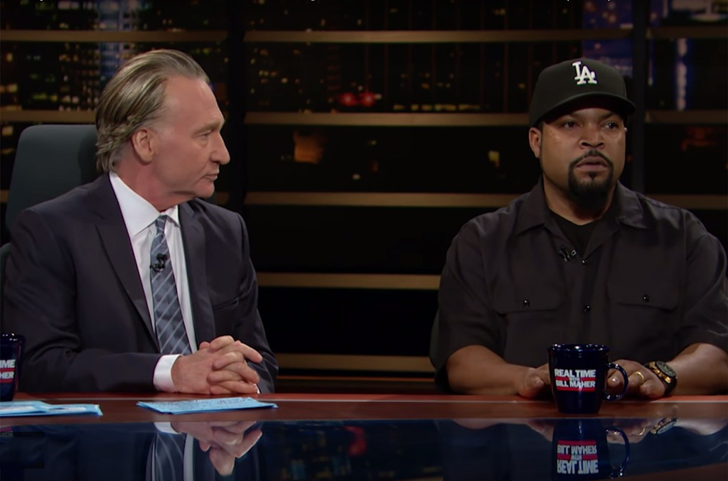 Bill Maher and Ice Cube on Real Time with Bill Maher
