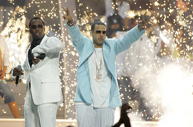 """Sean """"P. Diddy"""" Combs and Daddy Yankee"""