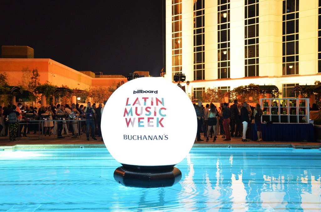 Latin Billboard Conference 2018 at The Venetian Hotel in Las Vegas.