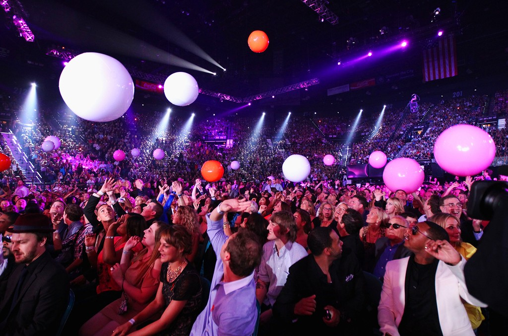 General view of atmosphere at the 2012 Billboard Music Awards held at the MGM Grand Garden Arena on May 20, 2012 in Las Vegas.