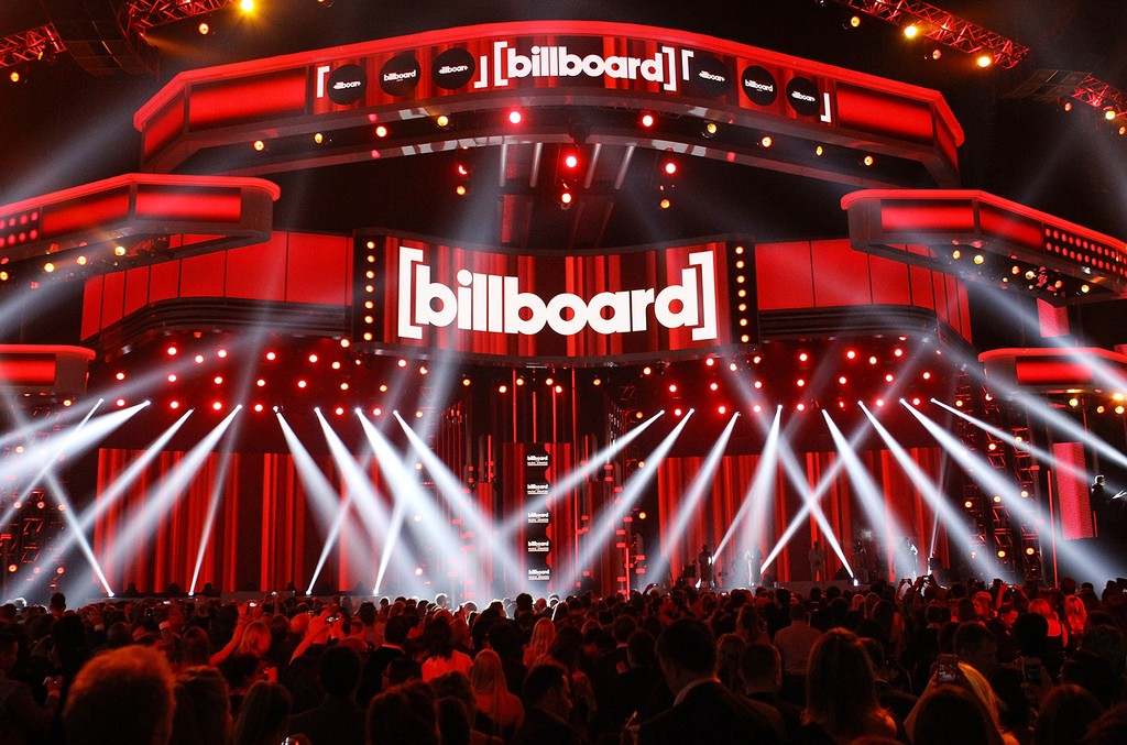 A general view of the 2014 Billboard Music Awards held at MGM Grand Garden Arena on May 18, 2014 in Las Vegas.