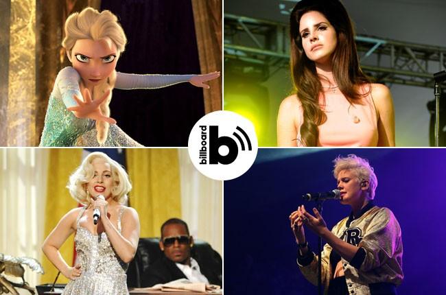 Frozen, Lana Del Rey, Betty Who and Lady Gaga