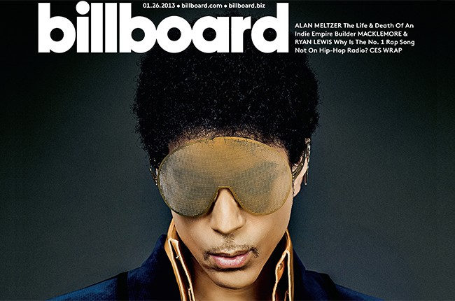 Prince Billboard cover 2016