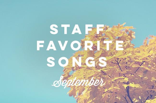 Billboard staff's favorite songs from September