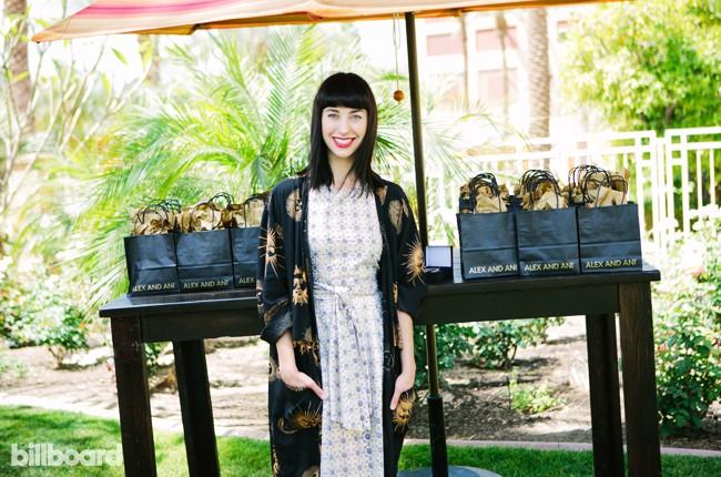 Kimbra at Billboard Studio at Renaissance for Coachella 2015