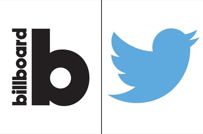 Billboard Logo and Twitter Logo