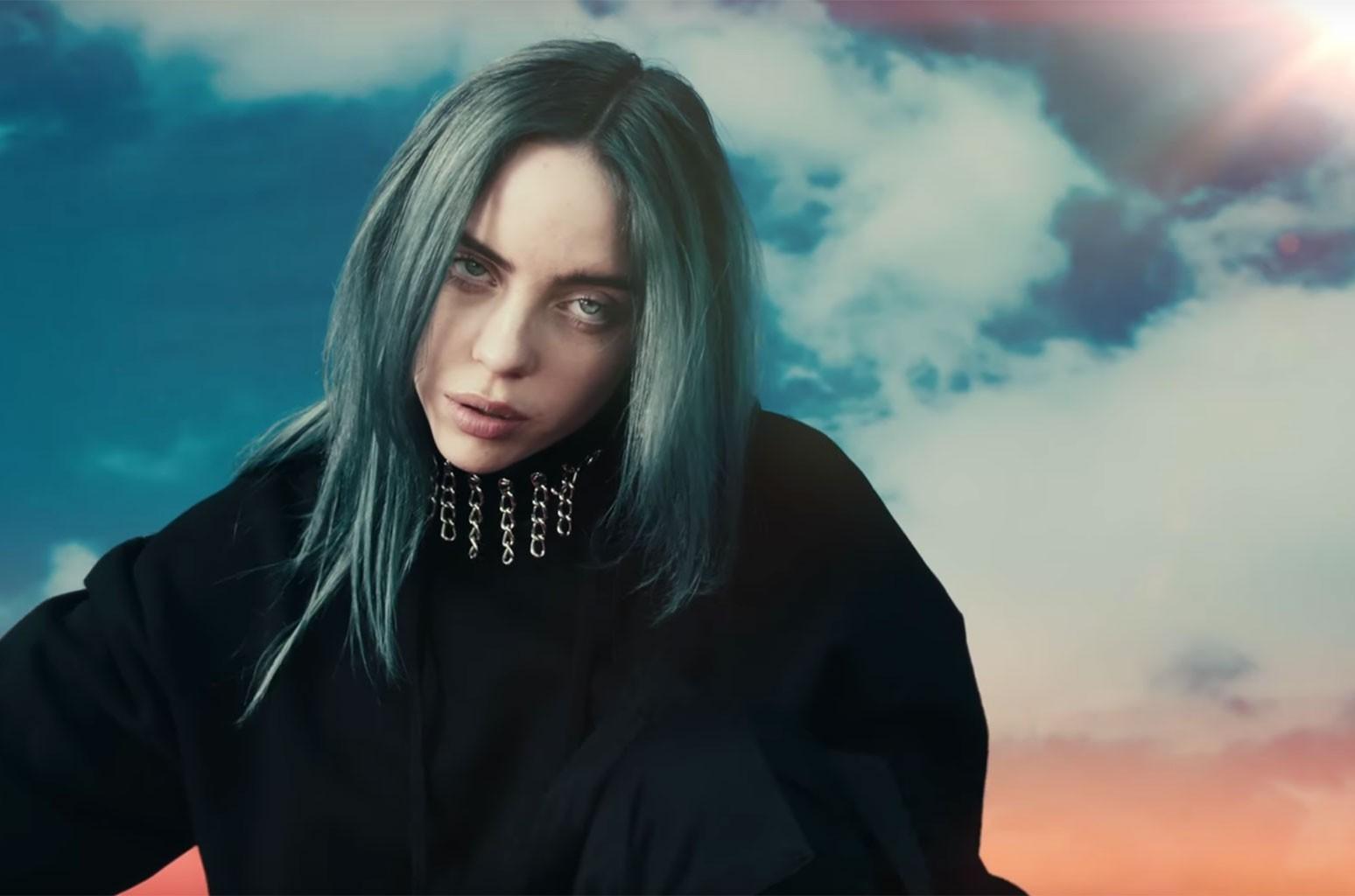 Billie Eilish Goes Berserk in Colorful 'Bad Guy' Video: Watch ...