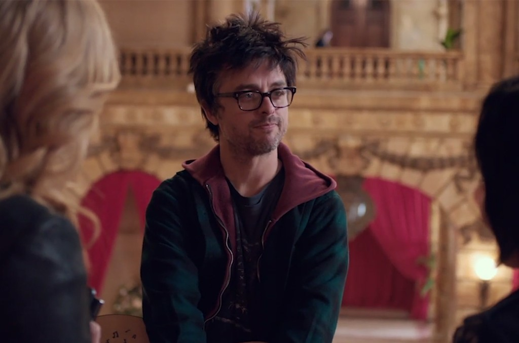 Billie Joe Armstrong in the trailer for Ordinary World.
