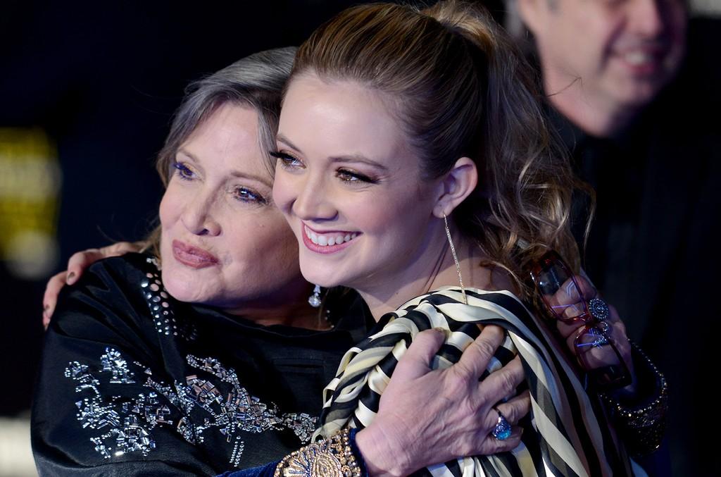 Carrie Fisher & Billie Lourd, 2015