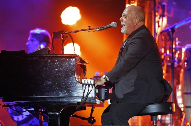 Billy Joel performs at the Bonnaroo 2015