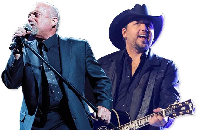 Billy Joel and Jason Aldean