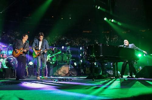Tommy Byrne, John Mayer and Billy Joel
