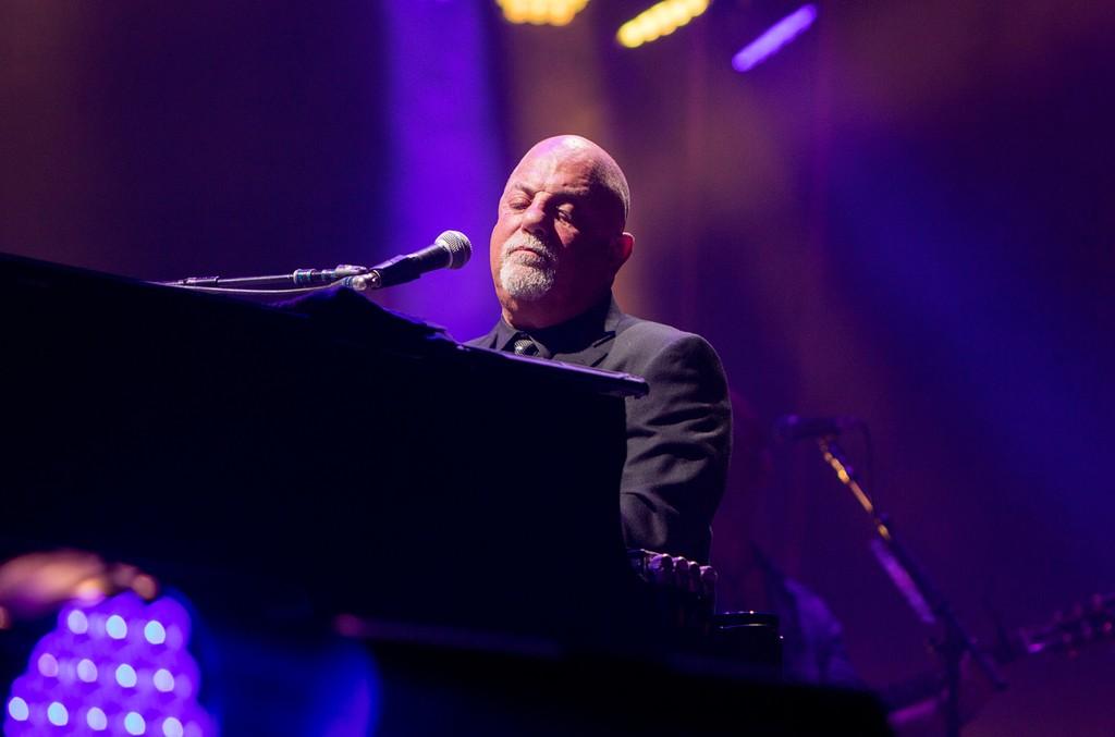 Billy Joel performs in 2016