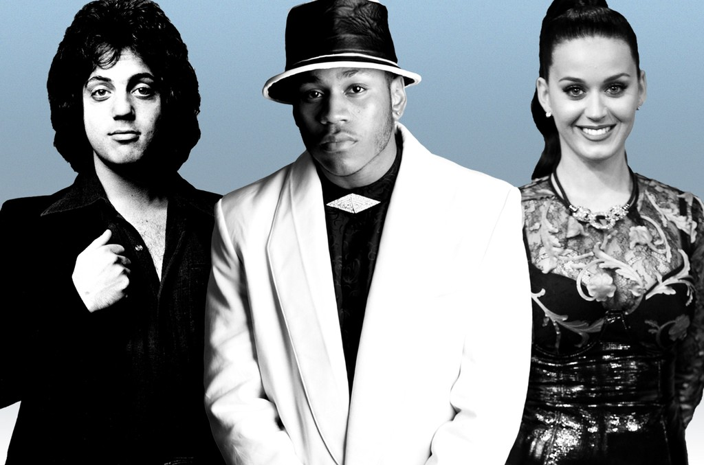 Billy Joel, LL Cool J and Katy Perry