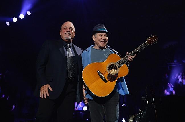 Billy Joel and Paul Simon
