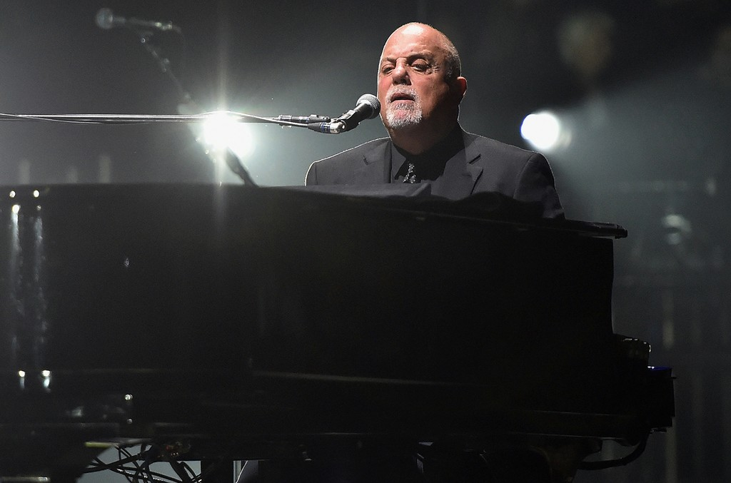 Billy Joel performs in concert at Madison Square Garden