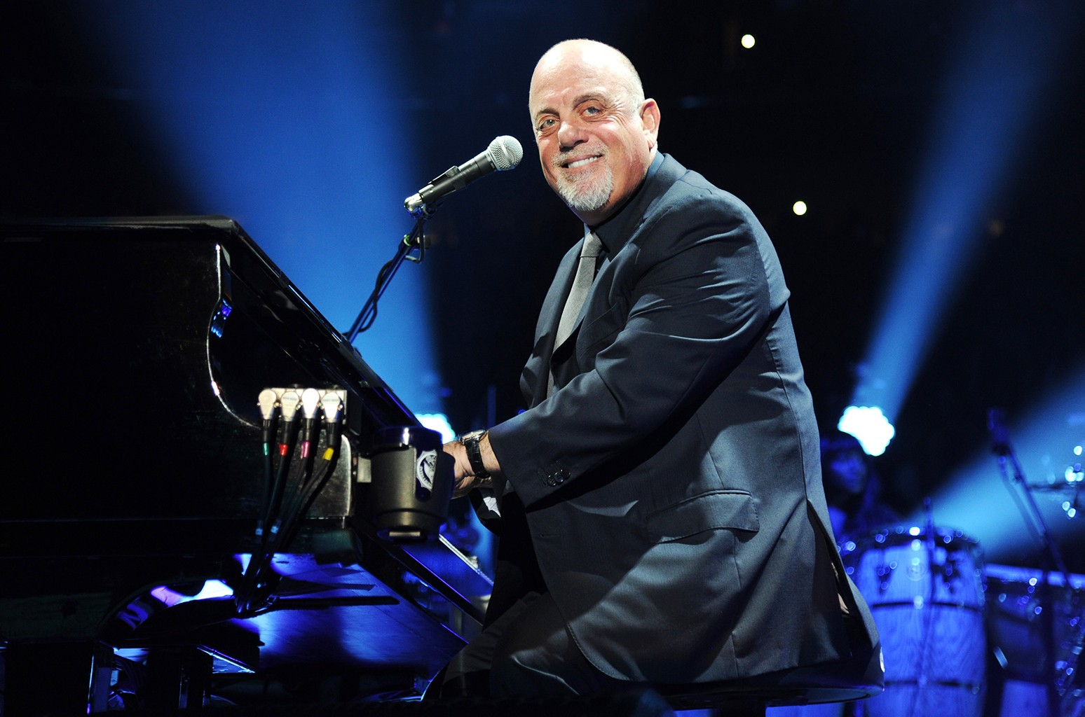 Billy Joel performs onstage celebrating his 65th birthday at Madison Square Garden on May 9, 2014 in New York City.