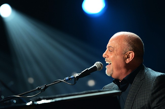 Billy Joel performs at MSG