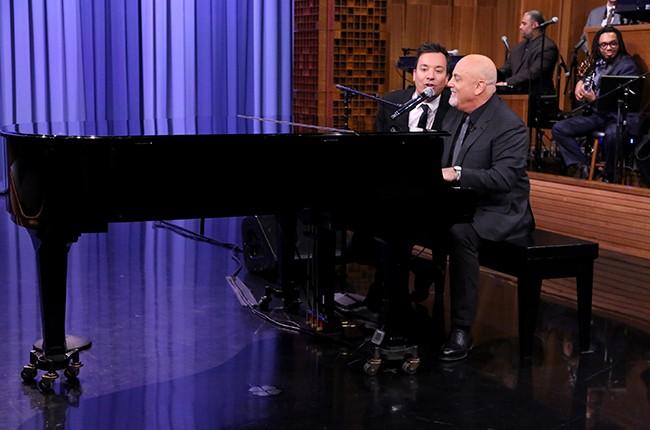 Jimmy Fallon Billy Joel