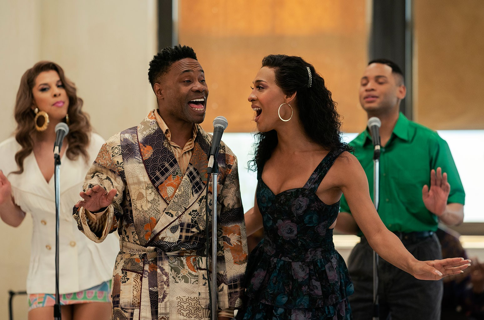 Billy Porter as Pray Tell and Mj Rodriguez as Blanca