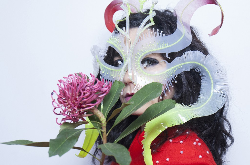 Bjork poses for a portrait during Red Bull Music Academy
