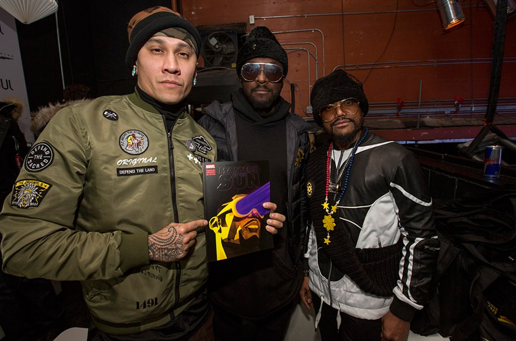 Taboo, will.i.am and apl.de.ap of the Black Eyed Peas