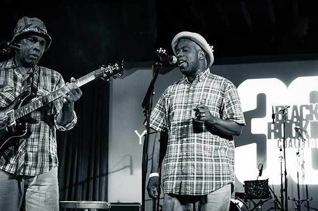 Vernon Reid and Corey Glover from the Black Rock Coalition