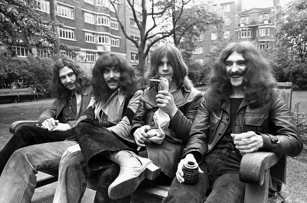 Black Sabbath photographed circa 1970.