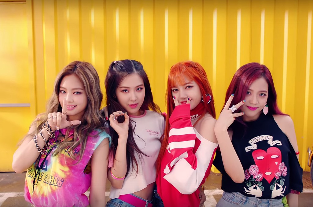 "BLACKPINK in the video for ""As if it's Your Last"""