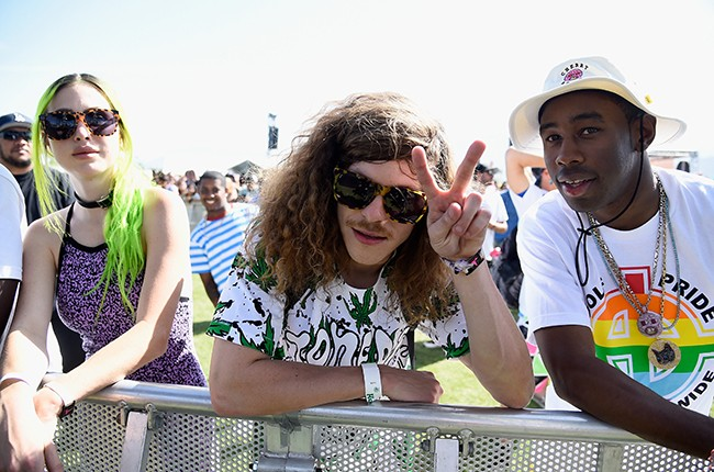 Blake Anderson and Tyler, the Creator